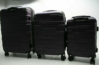 Coolife Luggage Expandable Suitcase 3 Piece Set TSA Lock Spinner 20 24 28 In