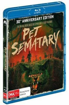 Pet Sematary : 30th Anniversary Edition (Blu-Ray, 2019) (Region B) New Release