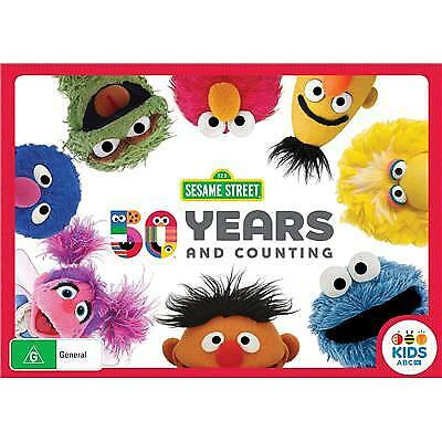 Sesame Street - 50th Anniversary Collection (DVD, 2019) (Region 4) New Release