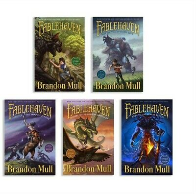 FABLEHAVEN COMPLETE SET (5 BOOKS)- MP3 AUDIOBOOK-(no cd{links})