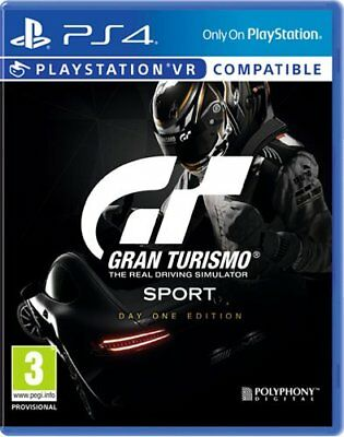 Gran Turismo Sport Day One Ed _ Jeu Ps4 Neuf S/cello  Officiel _Vers Francaise