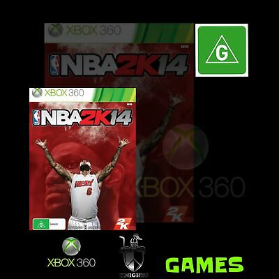 Nba 2K14 (Xbox 360 Game) Pre-Owned, Free Shipping.