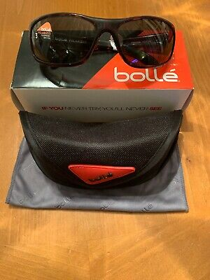7873cc853e BOLLE Anaconda 10335 Sunglasses Dark Tortoise Polarized 8B Base Polar Axis  Lens