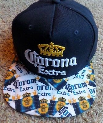 4312d056029 Corona Extra Men s Baseball Cap Hat Beer One Size Fits Most Adjustable NWT