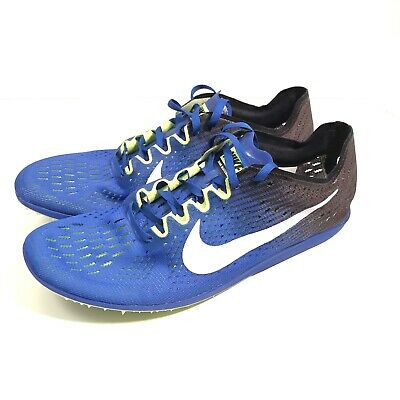 006a4a5919d5 Nike Zoom Matumbo 3 Track Running Spikes Blue Mens Size 10 835995-413 New