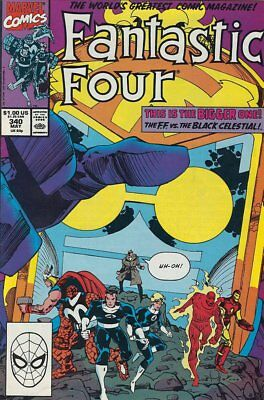 Fantastic Four (Vol 1) # 340 Hochwertig ( Vfn ) Marvel Comics Modern