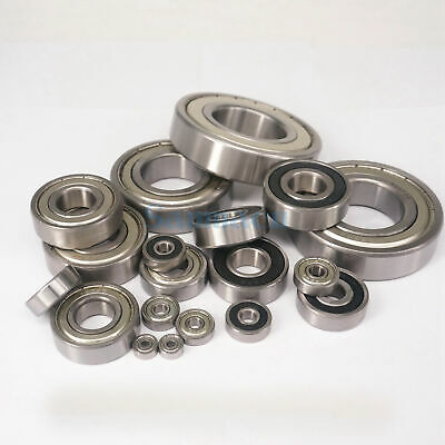 Inner Diameter 3mm To 30mm ABEC1/ABEC3 Sealed/Shield Deep Groove Ball Bearings