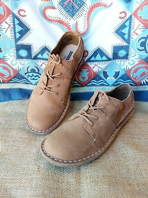 4057b8e891a170 CLARKS WOMEN S JANEY Mae Casual Lace Up Suede Oxford Shoes Tan 7 M ...