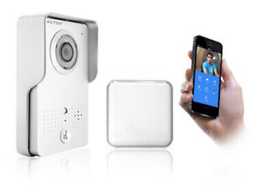 WI-FI Video Doorbell Rain Proof For iPhone/Android Doorbell Security Camera