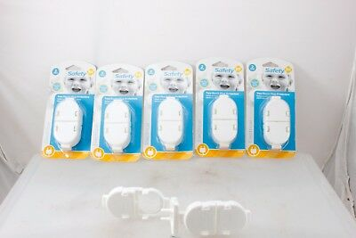 Safety First 5 Pack 2 Two-Touch Protector Plug Outlet Covers