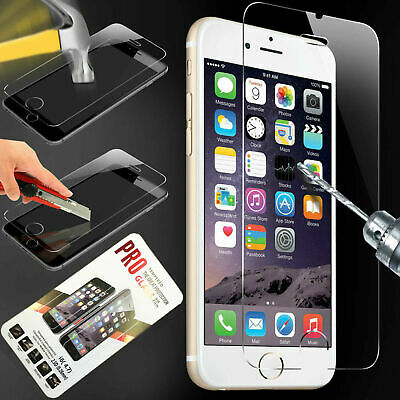 For iPhone 7 8 Tempered Glass Screen Protector - CRYSTAL CLEAR
