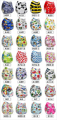 Soft Washable Cloth Diapers Nappies Adjustable Reusable For Baby Infant Newborn