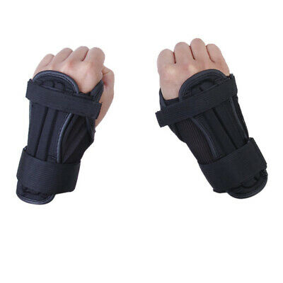 A Pair of Kids Snowboard Ski Wrist Support Guard Pads Protective Sport Glove