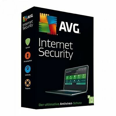 AVG Internet Security 2019 / 1 oder 3 PC / 1 oder 2 Jahre ESD Download Lizenz
