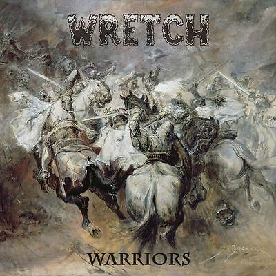 WRETCH - Warriors (LIM.200 DLP BLACK V.* US CLEVELAND METAL COMEBACK*SHOK PARIS)