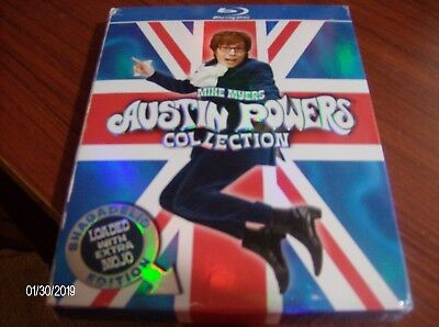 Austin Powers Collection (shagadelic edition] blu-ray