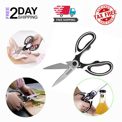 Kitchen Scissors Multifunction Stainless Steel Food Cutting  Bottle Opener