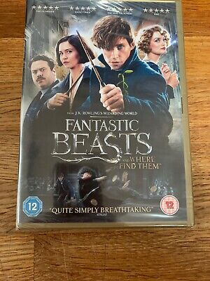 Fantastic Beasts And Where To Find Them [DVD] New and sealed & Free postage.