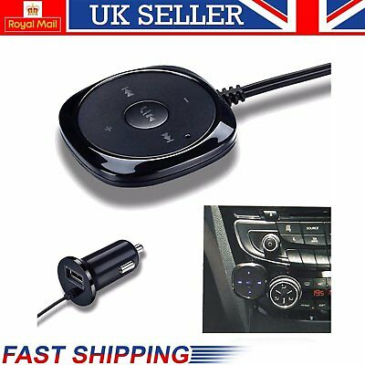 3.5mm Wireless Bluetooth Audio Stereo Music Receiver Car AUX Adapter USB CE