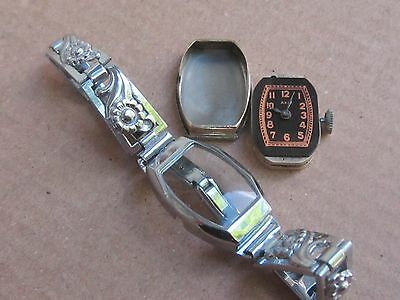 "WOW! NOS Art Deco Swiss Ladies'watch ""AXA""15j, -30s"