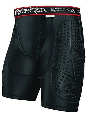 Troy Lee Designs Black Shock Doctor LPS3600 MX Protection Shorts