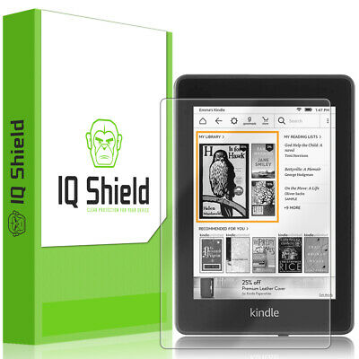 """IQ Shield Clear Screen Protector for Amazon Kindle Paperwhite (6"""" 2018)"""