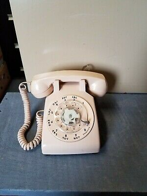 OLD Vintage BELL WESTERN ELECTRIC ROTARY PHONE 1957