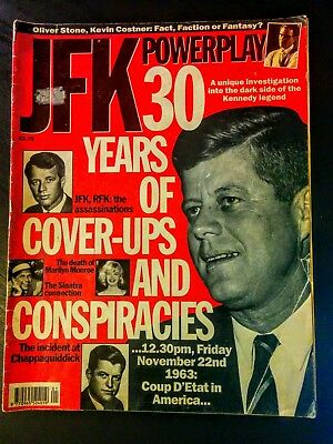 JFK Powerplay: 30 Years of Kennedy Cover-Ups & Conspiracies, Magazine Special