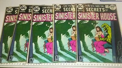 Secrets Of Sinister House # 15 VF+ Cond.
