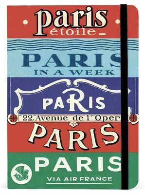 Cavallini - City Guide Notebook - Paris - 208 pages - Metro Map Incl