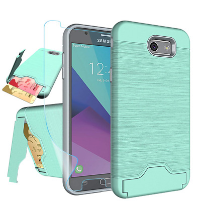 Galaxy J7 V 2017/ J7 Perx/J7 Prime/J7 Sky Pro/Halo Case with HD Screen Protector