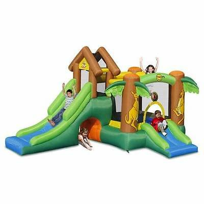 9071 The Happy Hopper Jumping Castle with Slide Happy Hop