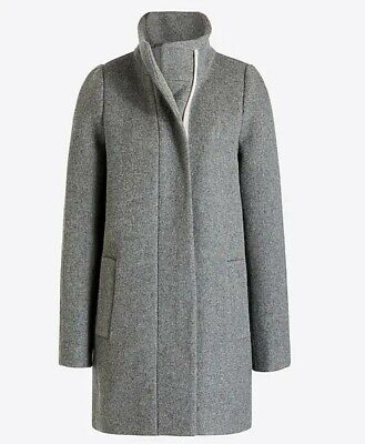 13a26ad34 J.CREW WOMEN'S, GRAY Wool Winter Coat, Size 4, Perfect Condition, New w/  Tags