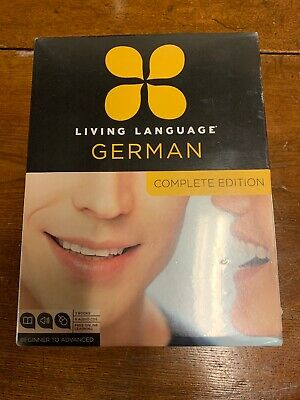 Living Language German Complete Edition Beginner to Advanced New Sealed 2011
