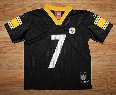 7420d1b47 Reebok Nfl Pittsburgh Steelers Ben Roethlisberger  7 Football Jersey-Size M  5-6