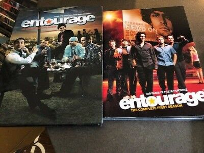 Entourage Complete First and Second Season (5-Disc DVD Set) Like New Condition