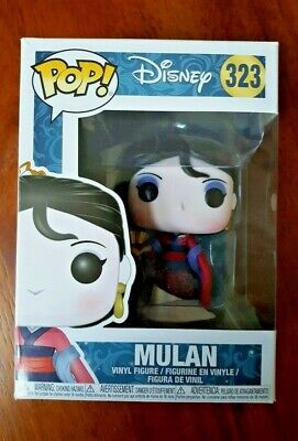 Funko Pop! Disney Princesses - Mulan # 323 Vinyl Figure *Free Shipping*