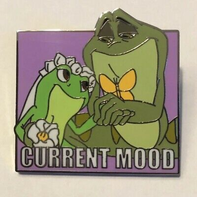 Current Mood Mystery Thumper and Princess and Frog Disney Pins