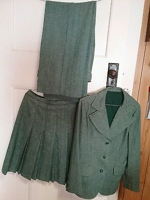 Women's 1970s, three piece Sportscraft suit.Pure wool.Size 12.