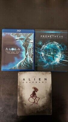 Alien Collection Blu-ray (Quadrilogy, Prometheus, Covenant)