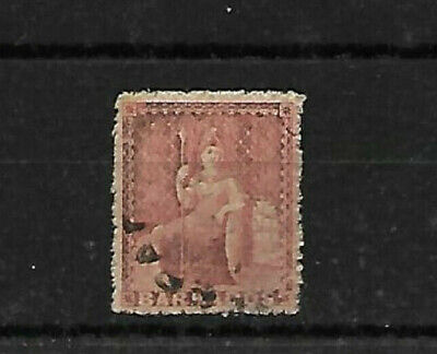 1871 BARBADOS 4d - S.G. 49 GOOD  USED.