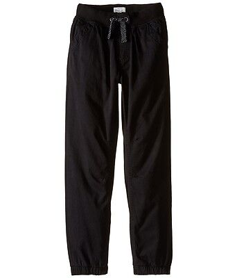 Boys Pumpkin Patch  Drill Pull on Pants Size 3,4 & 5  Black Ink