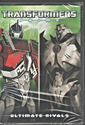 Transformers Prime: Ultimate Rivals (DVD, 2017) Brand New - SEALED