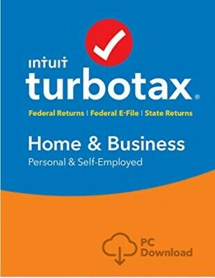 TurboTax Home and Business 2018 Federal + State📥USA SELLER 📥 Windows