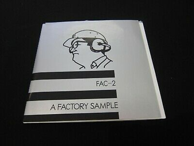 FAC-2 - A Factory Sample - 2008 UK Boot - Near Mint - AS NEW - Superb!!!!!!
