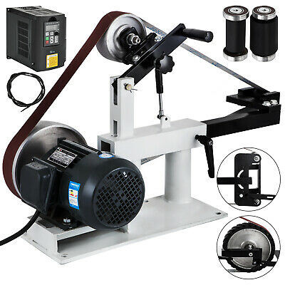 """Belt Grinder 2"""" x 78"""" Complete Chassis WITH 1.5KW MOTOR & VFD Combo"""