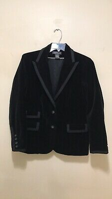 9e128b9e893 LADIES BLACK TUXEDO Jacket By George Size 12 Fully Lined NWT ...