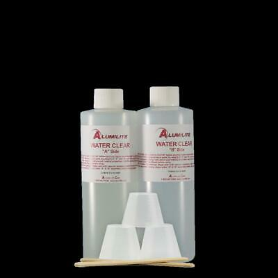 Alumilite WATER Clear Casting Resin Kit 16 Oz