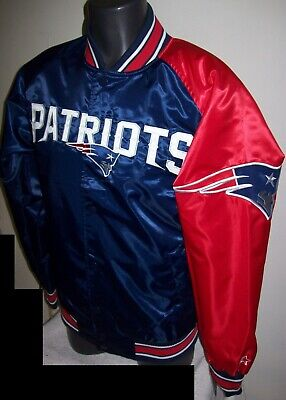 fcabf8bf7 NEW ENGLAND PATRIOTS Throwback Style STARTER NFL Jacket S M L XL 2X ...