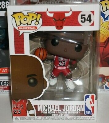 Funko Pop Michael Jordan #54 Chicago Bulls NBA Brand New